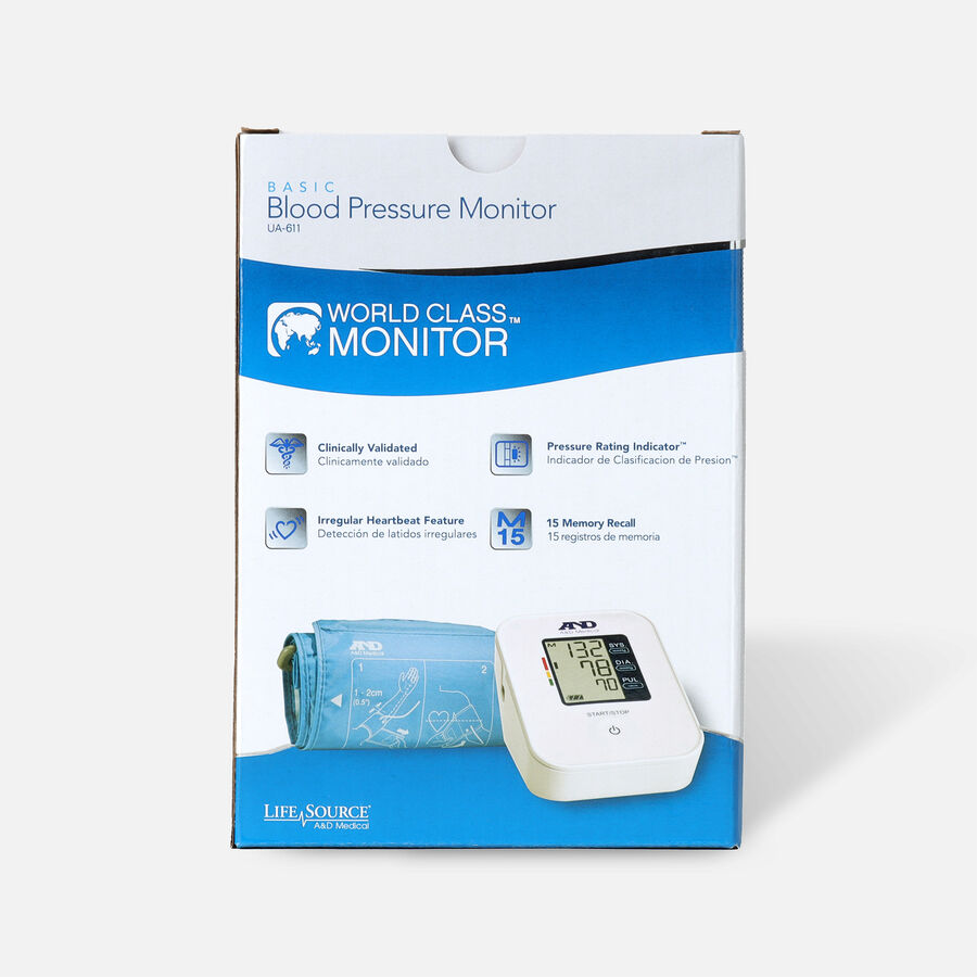 A&D Medical Arm Blood Pressure Monitor, , large image number 1