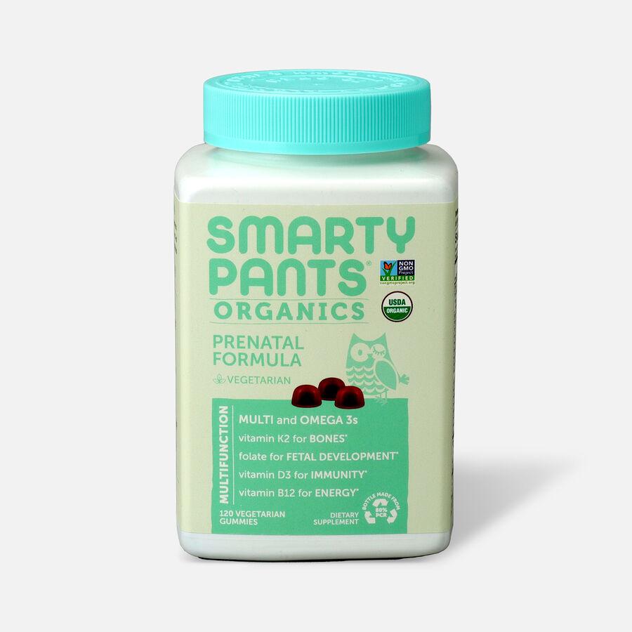 SmartyPants Organic Prenatal Complete Gummy Vitamins, 120 count, , large image number 0