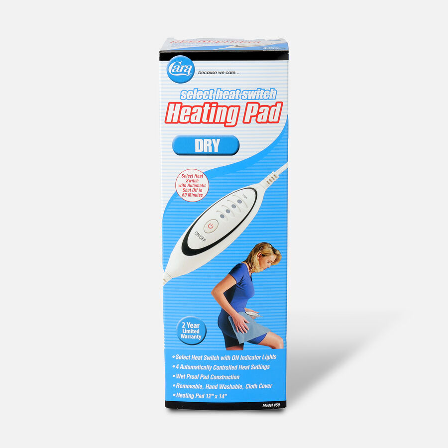 "Cara Dry Heating Pad 12"" x 14"", Model 50, , large image number 0"