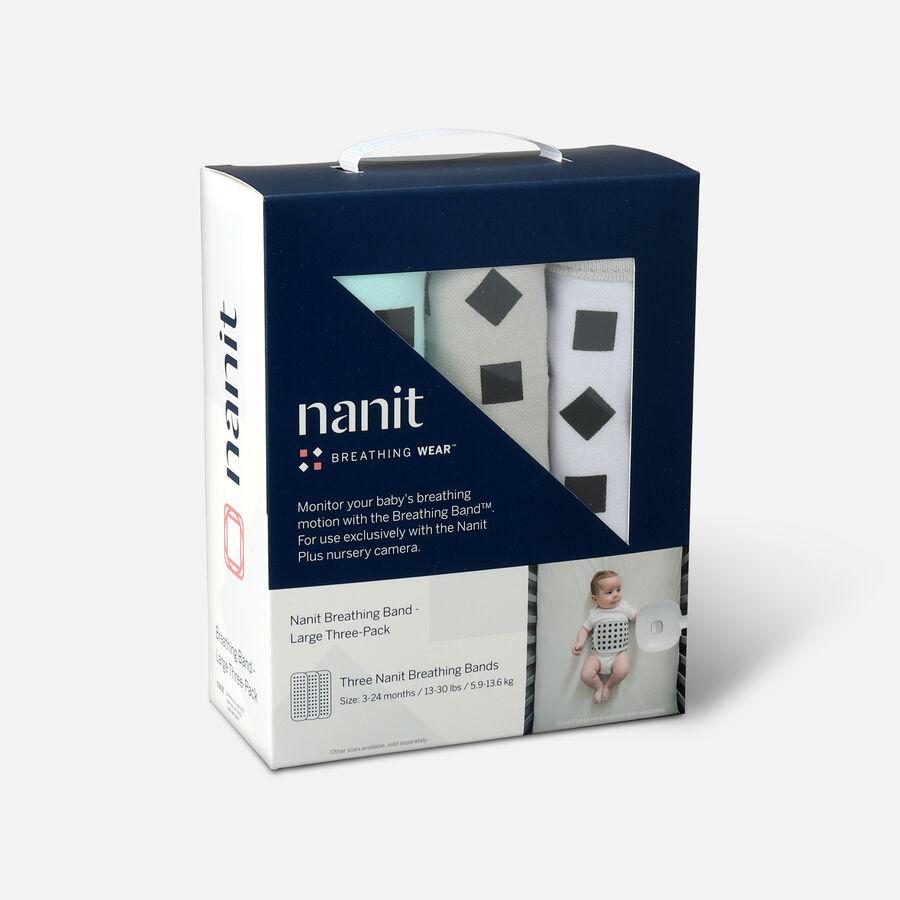 Nanit Breathing Wear Band 3pk, Size Large, , large image number 2