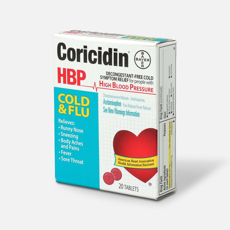 Coricidin HPB Cold & Flu, 20ct, , large image number 2
