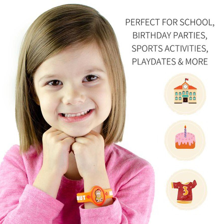 AllerMates Children's Allergy Alert Bracelet - Peanut, , large image number 2