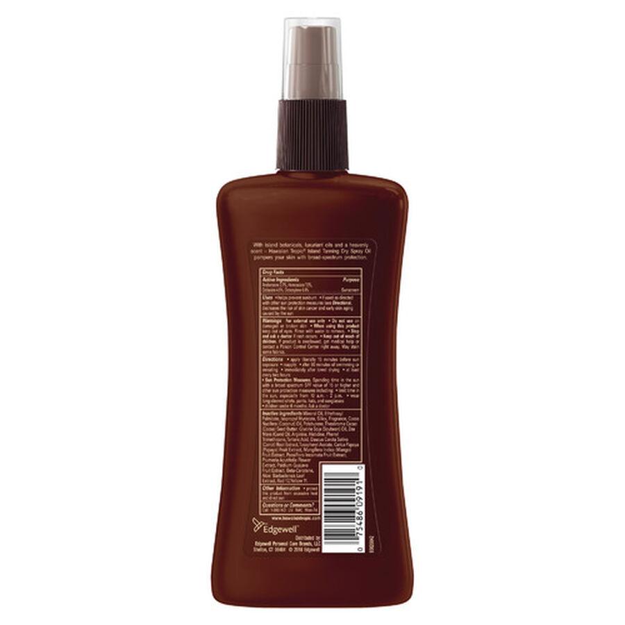 Hawaiian Tropic Dry Pump Spray Oil, 8oz., , large image number 1