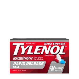Tylenol Extra Strength Rapid Release Gels, 225 ct