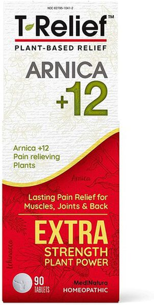 T-Relief Extra Strength Pain Relief Tablets, 90 ct