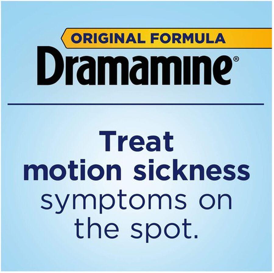 Dramamine Motion Sickness Relief, Original Formula, 12 ct, , large image number 5