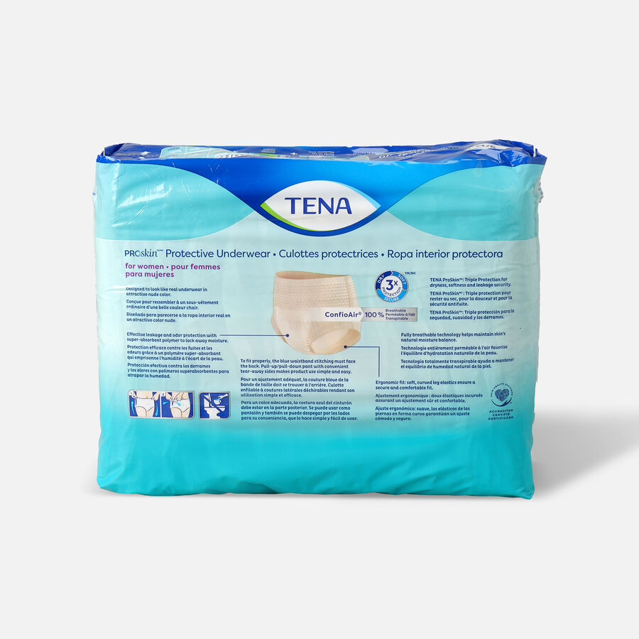 TENA ProSkin™ Protective Incontinence Underwear for Women, Maximum Absorbency,  Small/Medium, 20 Count, , large image number 1
