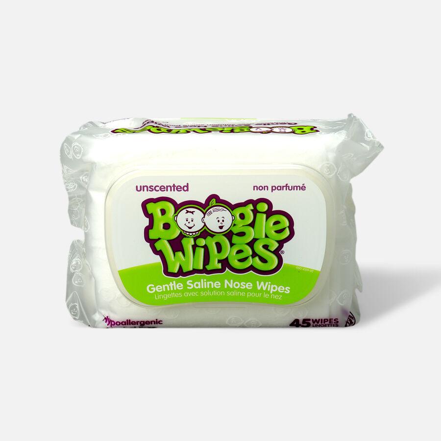Boogie Wipes Saline Nose Wipes, 45 ea, , large image number 1