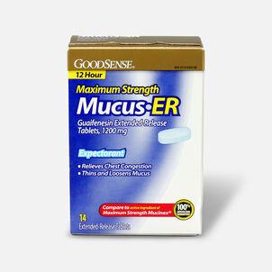 GoodSense® Guaifenesin Ex-Release Tabs 1200 mg, Maximum Strength, 14 ct