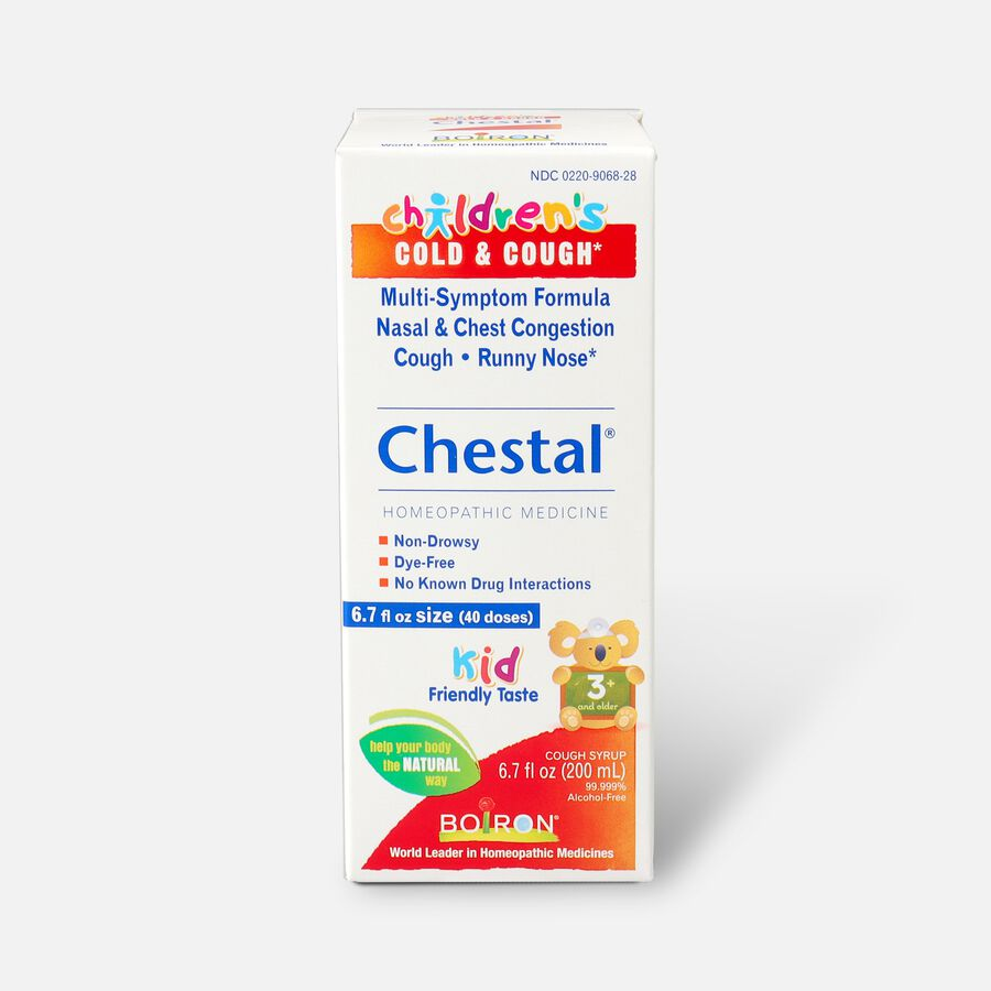 Boiron Children's Chestal Cough and Cold, 6.7 fl oz, , large image number 0