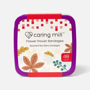 Caring Mill™ Flower Power Bandages-48CT