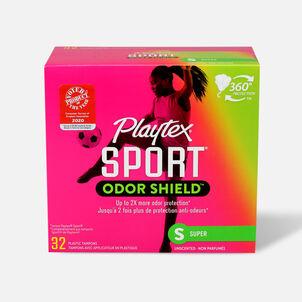 Playtex Sport Odor Shield Super Tampons, 32ct