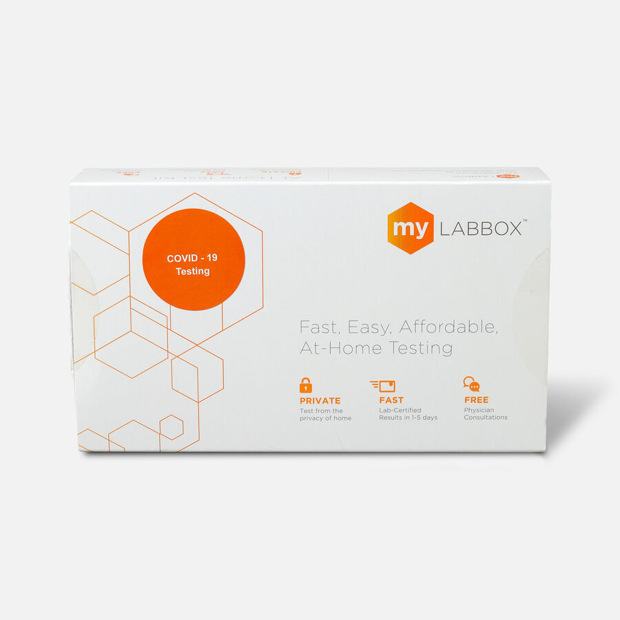 myLAB Box COVID-19 At-Home Viral Detection Test, , large image number 1