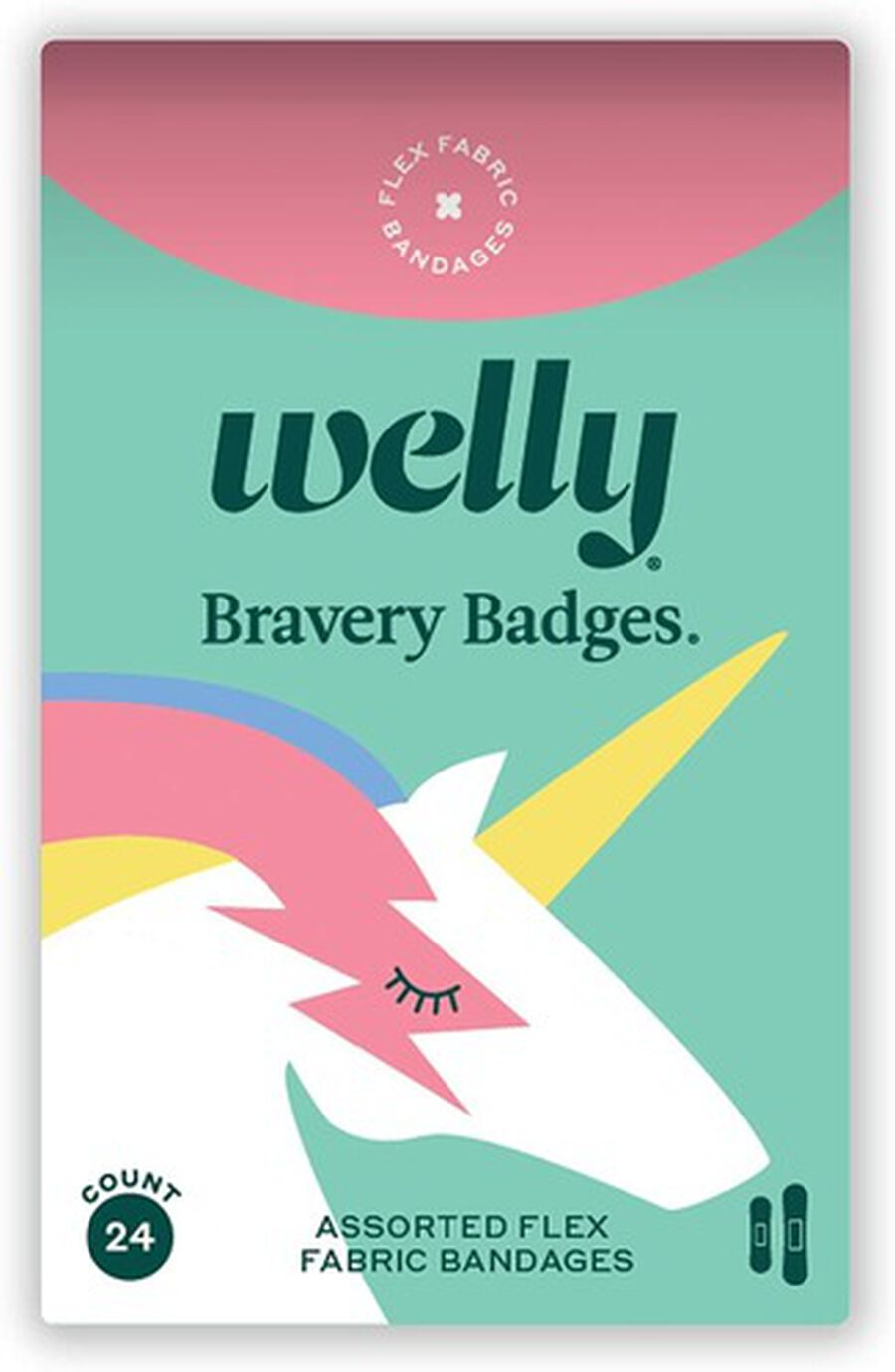 Welly Rainbow and Monster Bravery Badges Bundle, 144 pc, , large image number 3
