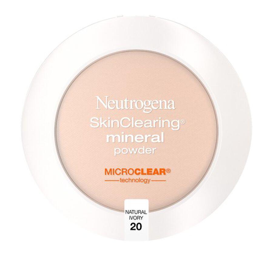 Neutrogena SkinClearing Mineral Powder, .38 oz, , large image number 1