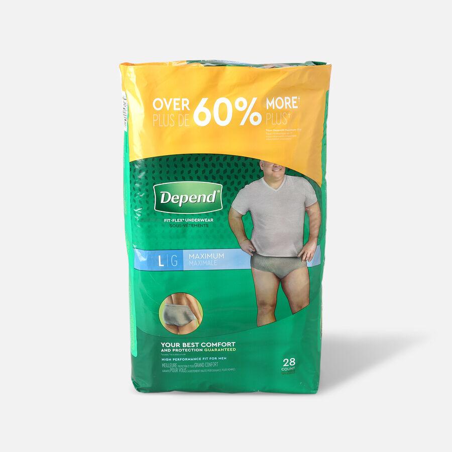 Depend Fit-Flex Max for Men, , large image number 0