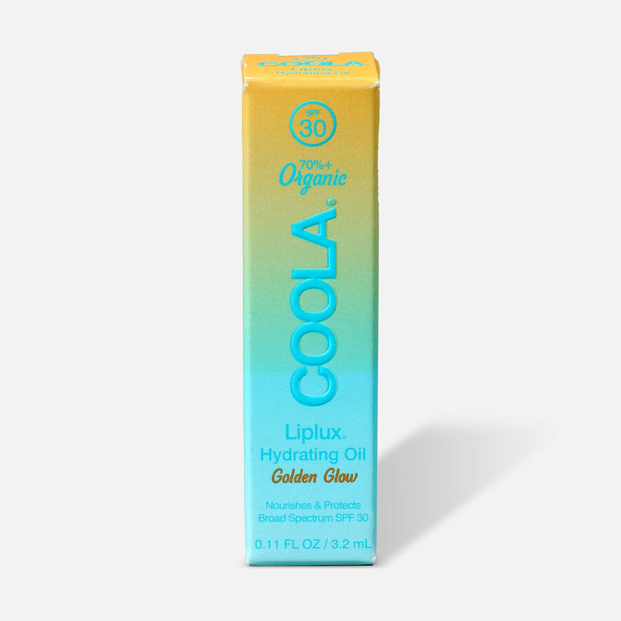 Coola Classic Liplux Organic Hydrating Lip Oil Sunscreen SPF 30, , large image number 0