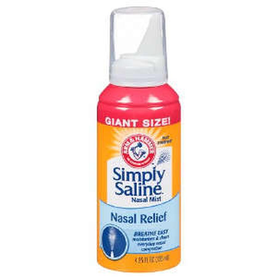 Simply Saline Sterile Saline Nasal Mist, 4.25 fl oz, , large image number 0
