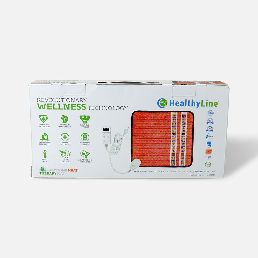 HealthyLine Heating Pad, 18x18 Soft, InfraMat Pro, , large image number 1