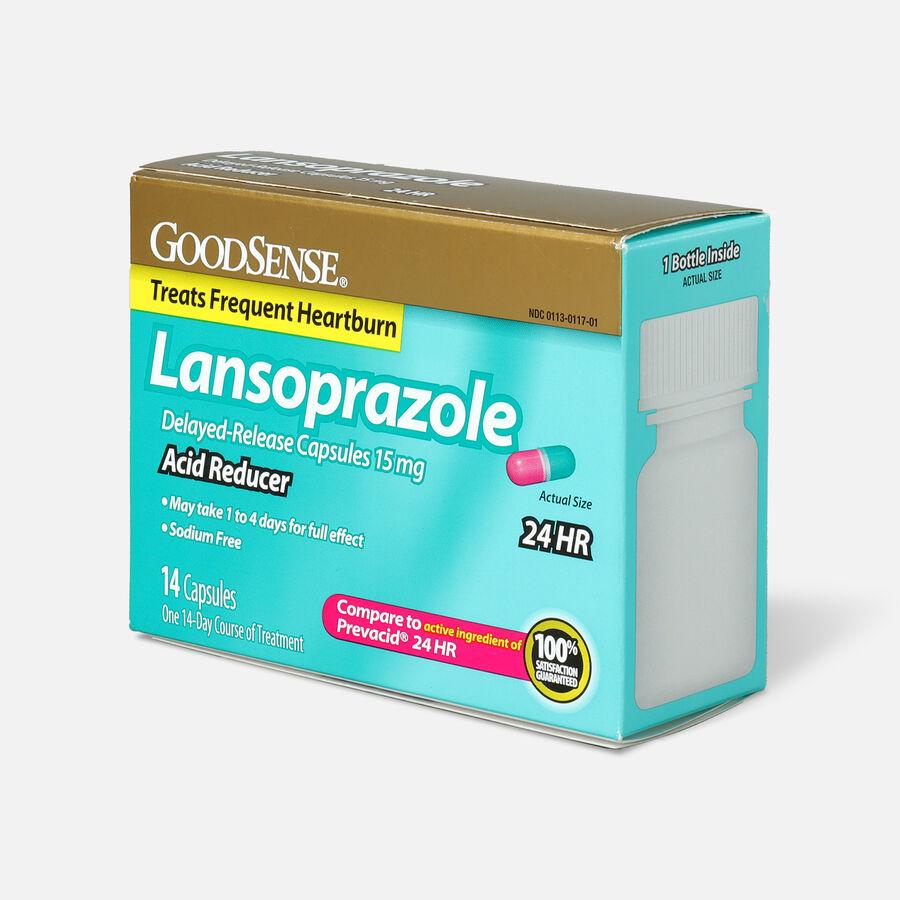 GoodSense® Acid Reducer, Lansoprazole Delayed Release Capsules,15 mg, , large image number 2