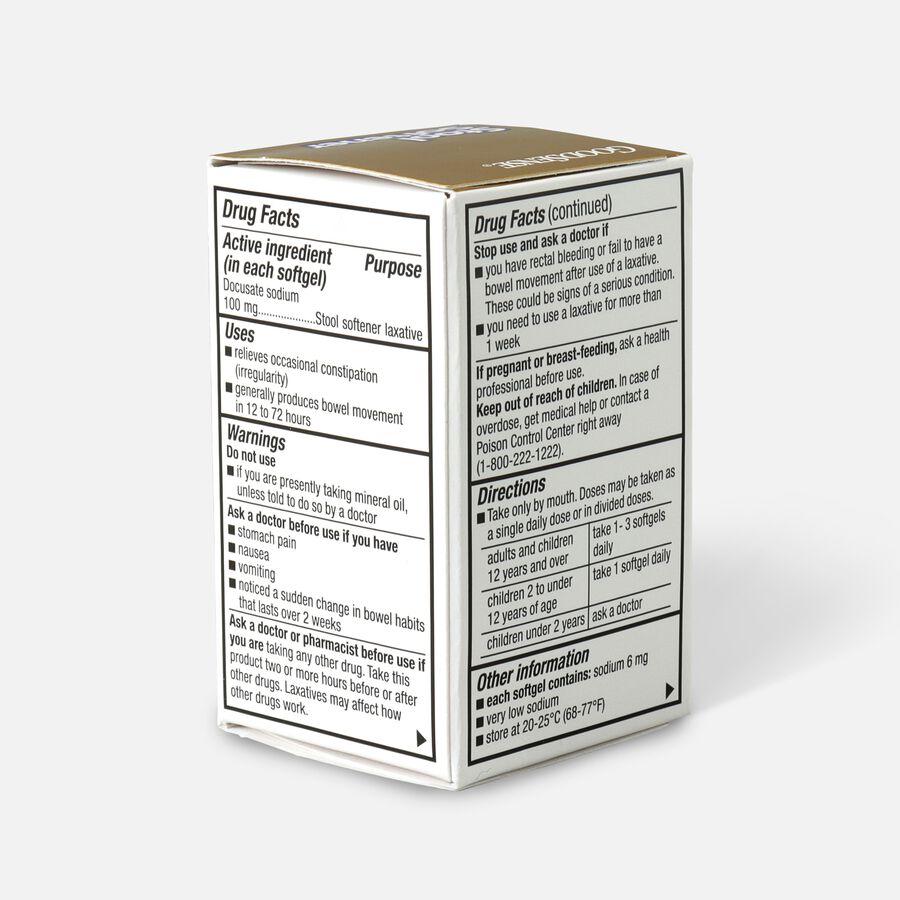 GoodSense® Stool Softener 100 mg Stimulant Free Softgels, 60 ct, , large image number 2