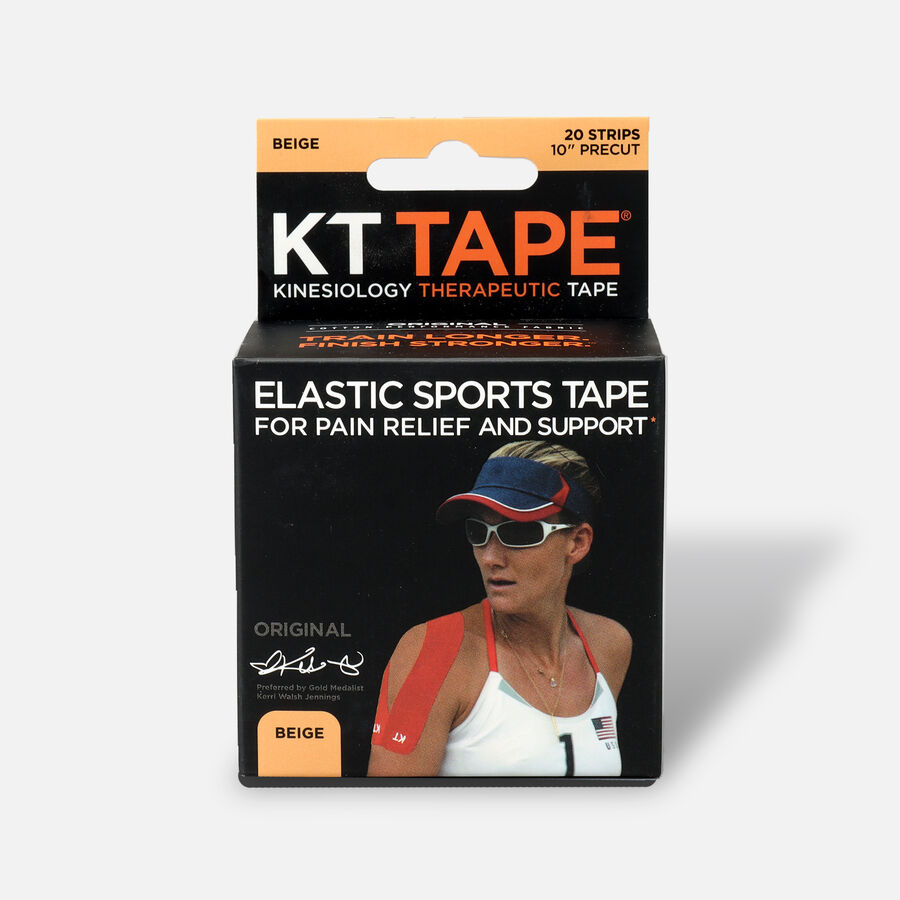 KT TAPE Original, Pre-cut, 20 Strip, Cotton, , large image number 0