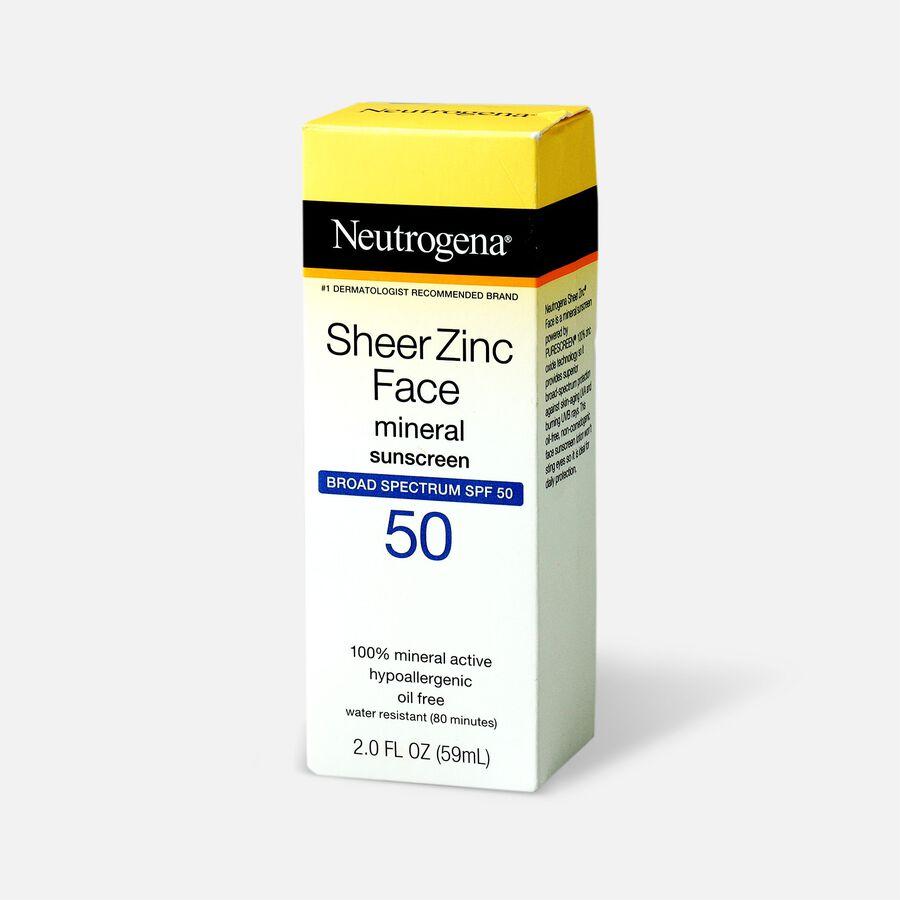 NEUTROGENA SHEER ZINC™ Face Dry-Touch Sunscreen Broad Spectrum SPF 50, 2 Fl. Oz., , large image number 3