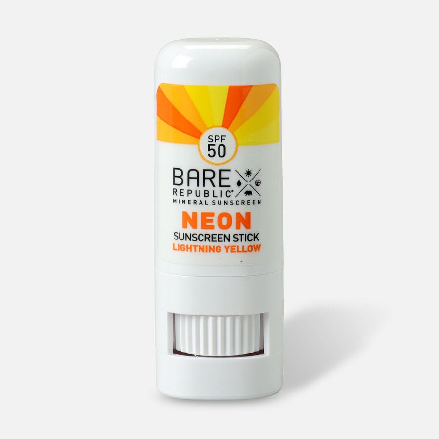 Bare Republic Mineral SPF 50 Neon Sunscreen Stick, , large image number 16