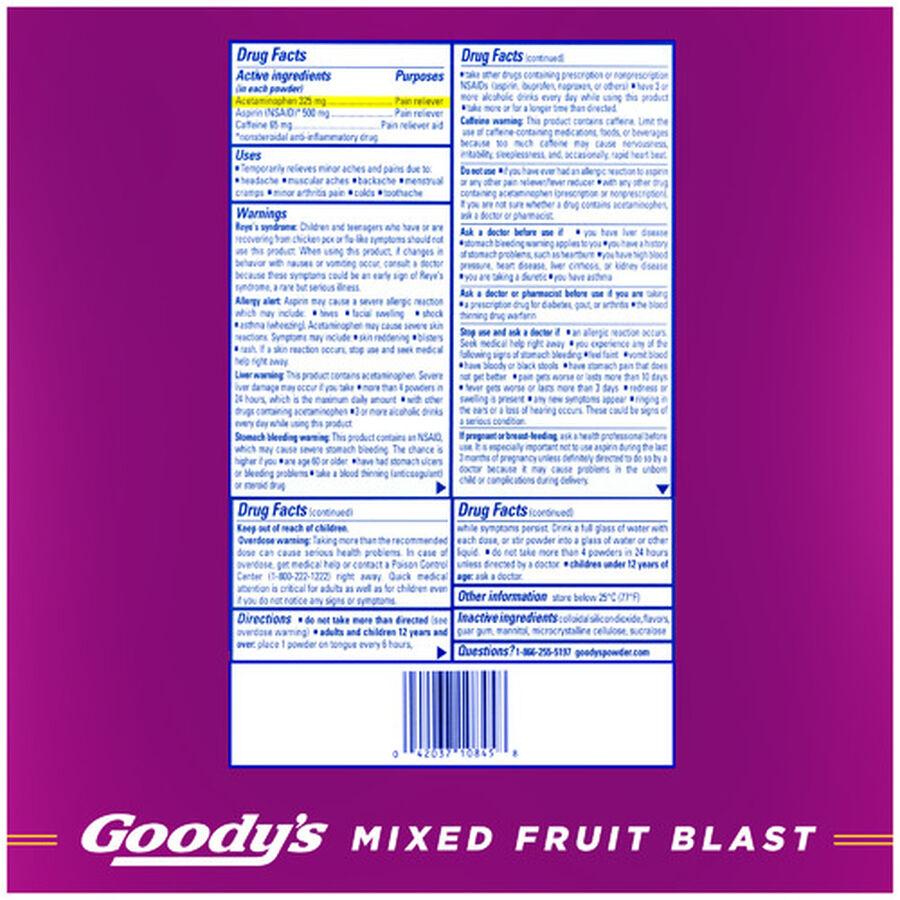 Goody's Mixed Fruit Stix, 24ct., , large image number 1