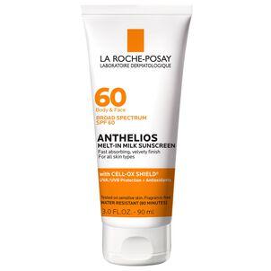 La Roche-Posay Anthelios Melt-In Milk Sunscreen, SPF 60, 3.04 fl oz
