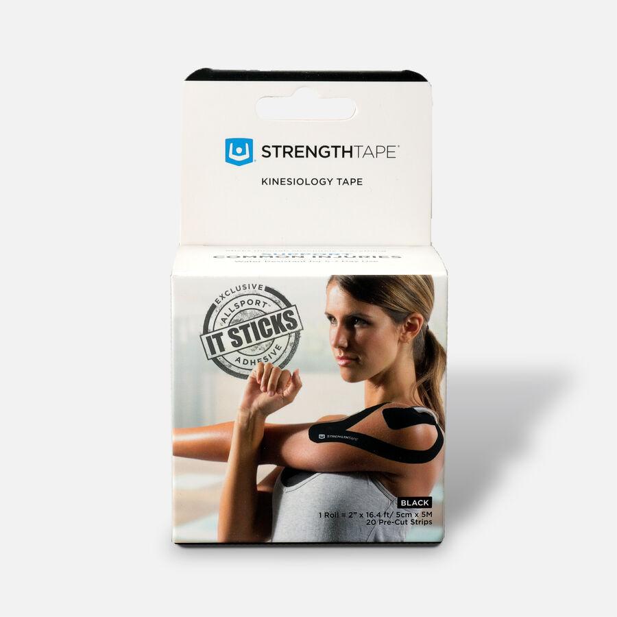 StrengthTape Kinesiology Precut Tape, 20 ct, , large image number 3