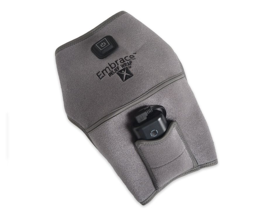 Battle Creek Embrace ™ Relief Shoulder Wrap – Portable, 3 Temperature Settings, Auto Shut Off, Wireless & Rechargeable Wrap, Battery-Operated Heat Therapy Wrap for Rotator Cuff and Shoulder Pain Relief, , large image number 1