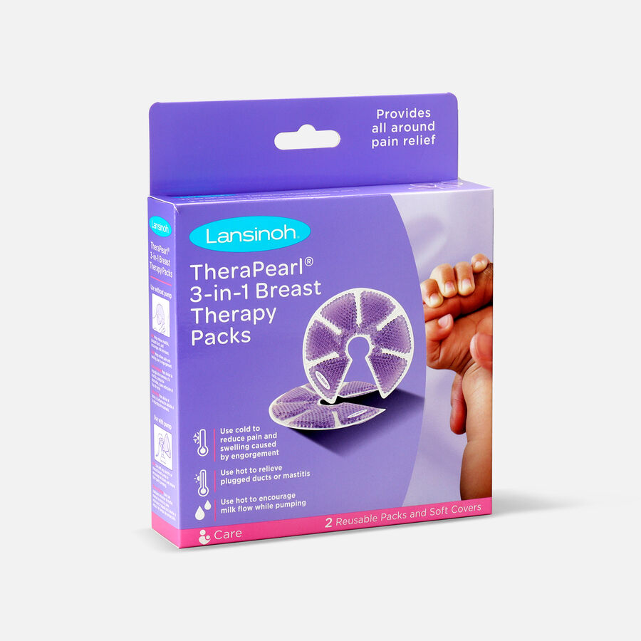 Lansinoh TheraPearl 3-in-1 Hot or Cold Breast Therapy, , large image number 2