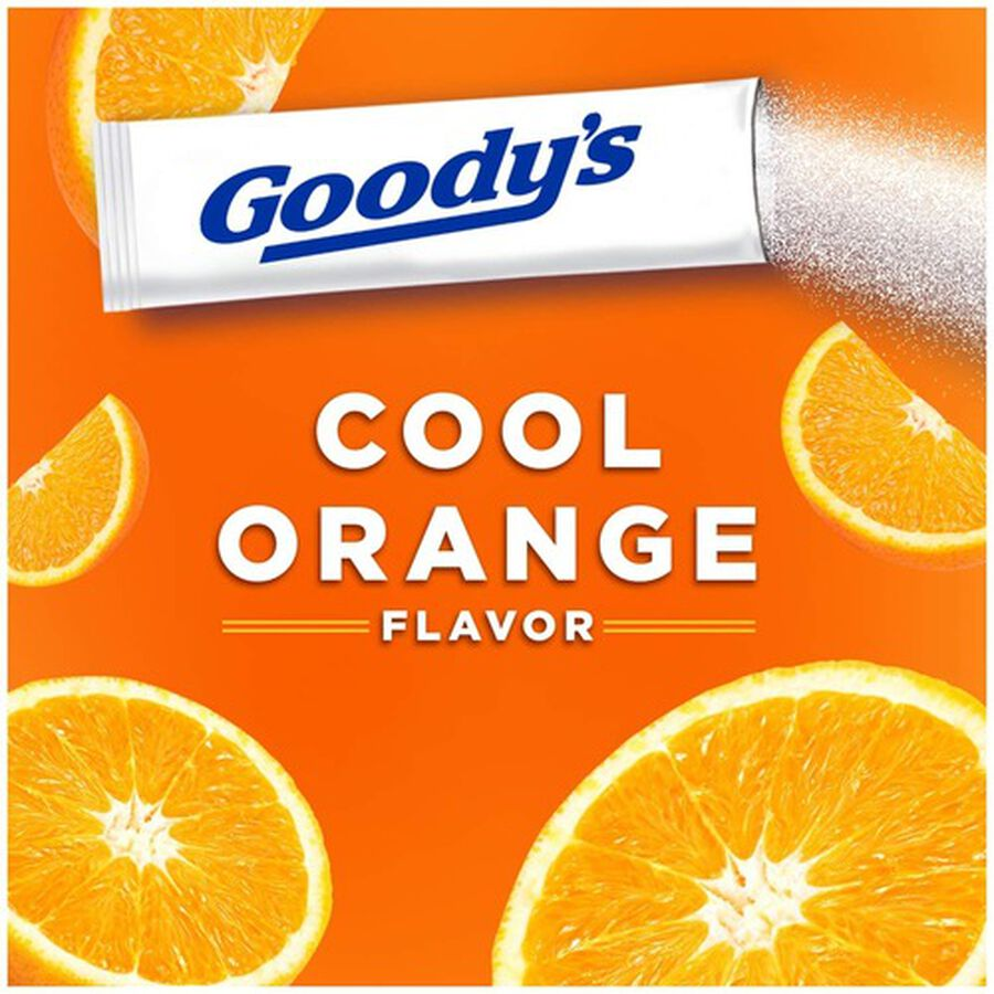 Goody's Cool Orange Acetaminophen / Aspirin Powder Stick, 24ct., , large image number 4