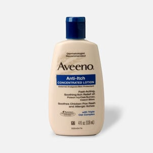 Aveeno Anti-Itch Concentrated Lotion with Calamine and Triple Oat Complex, 4 fl. oz