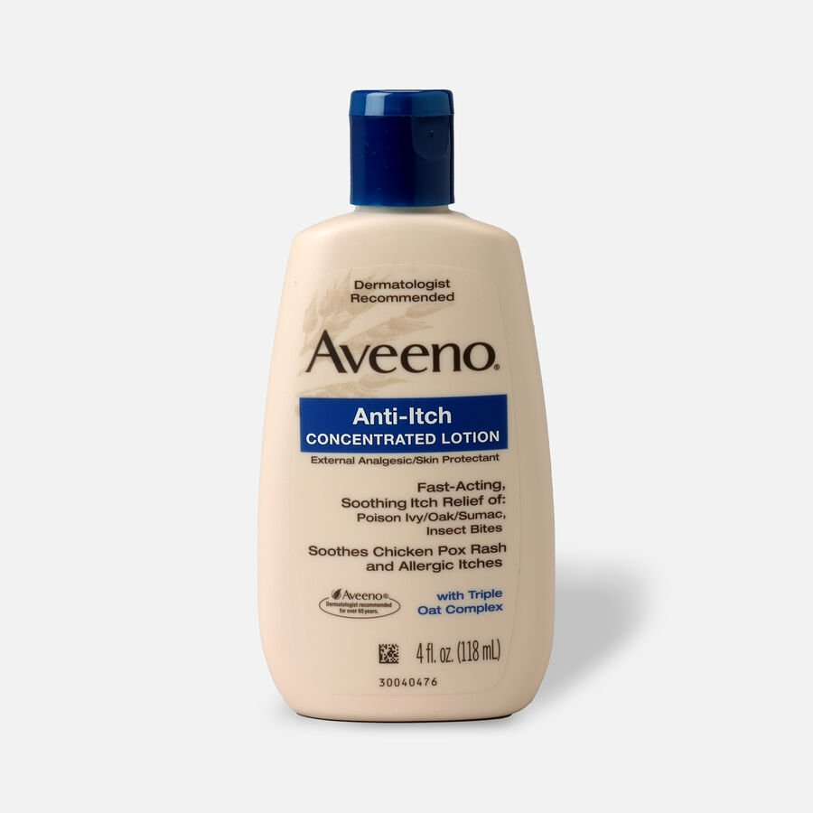 Aveeno Anti-Itch Concentrated Lotion with Calamine and Triple Oat Complex, 4 fl. oz, , large image number 0