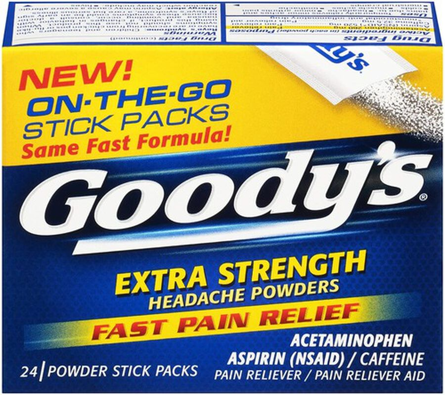 Goody's Extra Strength Headache Powder, 24 ct., , large image number 1