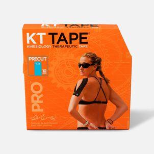 KT Tape Pro Jumbo Precut Tape, Laser Blue, 150 Precut Strips
