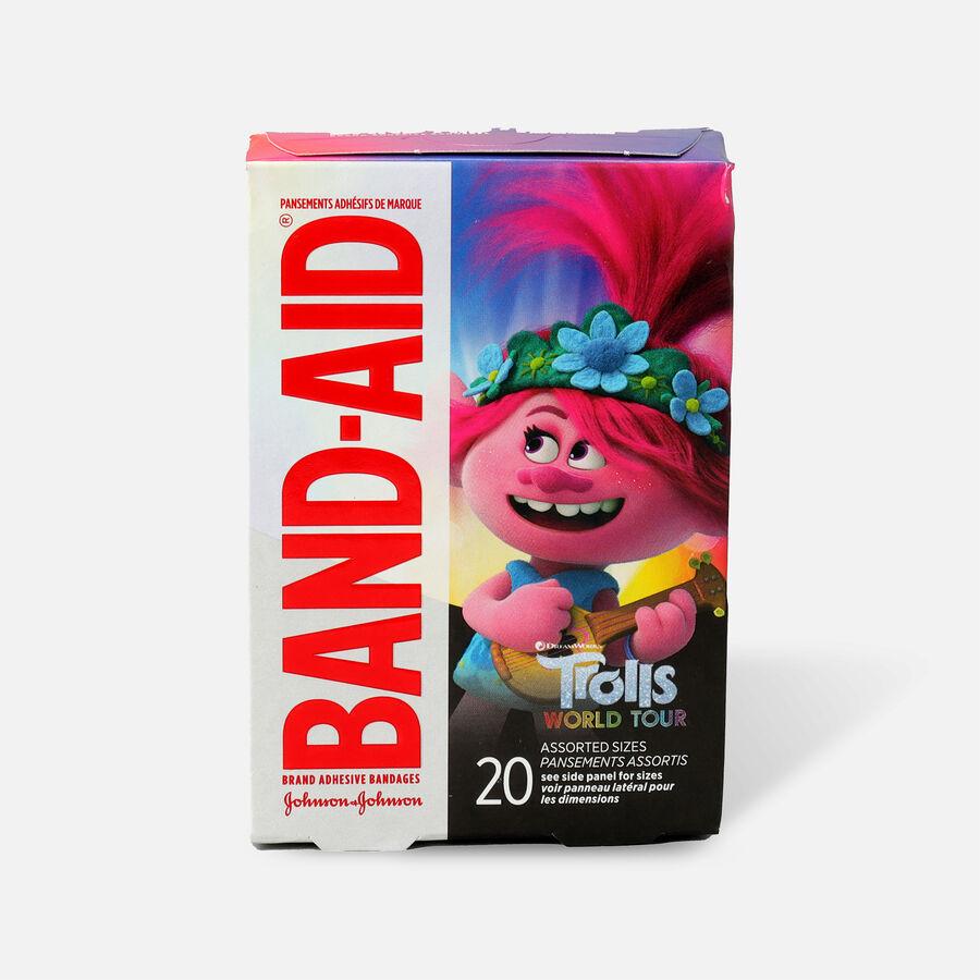 Band-Aid Dreamworks Trolls Assorted Bandages, 20ct., , large image number 0