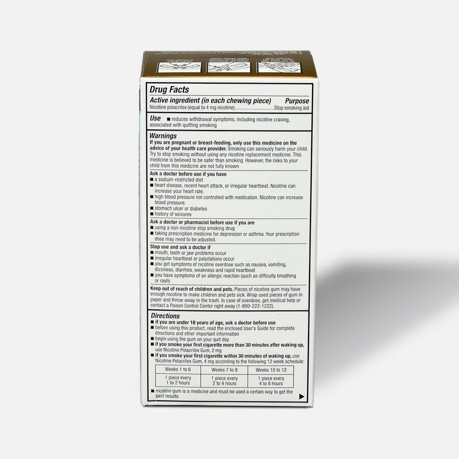GoodSense® Nicotine Polacrilex Gum 4 mg Original Uncoated, , large image number 4