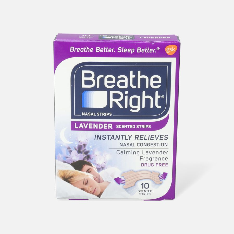 Breathe Right, Lavender Scented Strips, , large image number 0