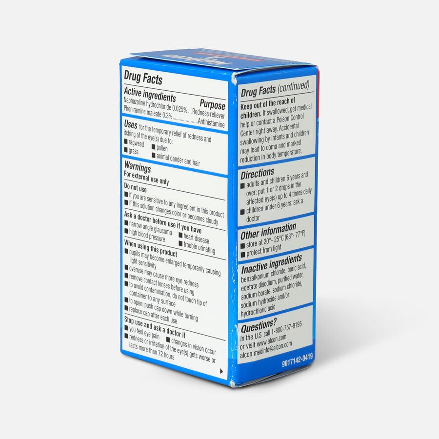 Naphcon-A Eye Allergy  Drops Pocket Pack, 15 mL, , large image number 4