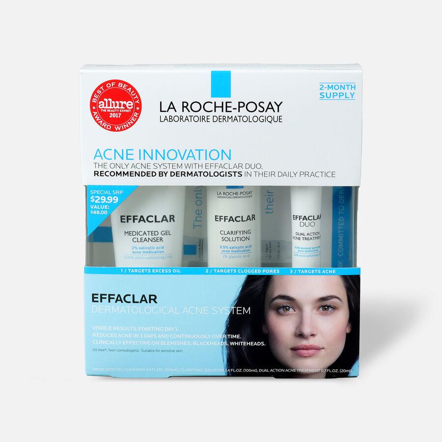 La Roche-Posay Effaclar Dermatological 3-Step Acne Treatment System, , large image number 1