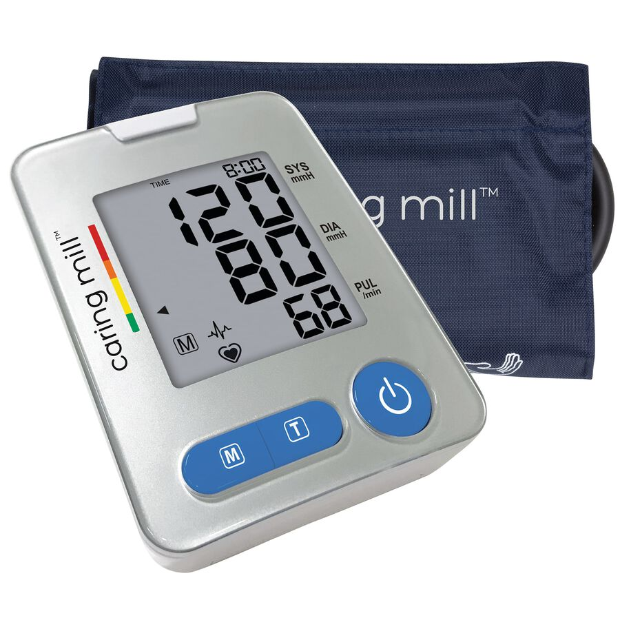 Caring Mill® Series 500 Upper Arm Blood Pressure Monitor, , large image number 0