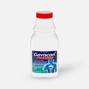 Gaviscon Extra Strength Liquid Antacid, Cool Mint Flavor, 12 fl oz