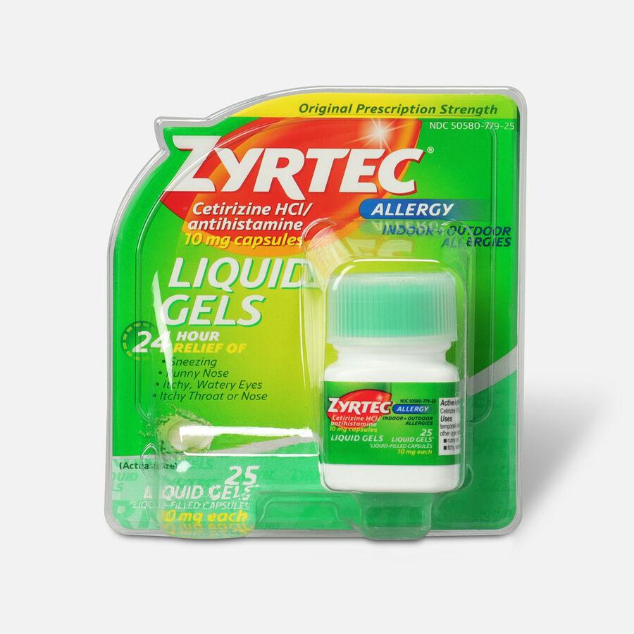 Zyrtec Allergy Liquid Caps, , large image number 1
