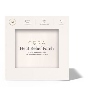 Cora Heat Relief Patch, 3ct