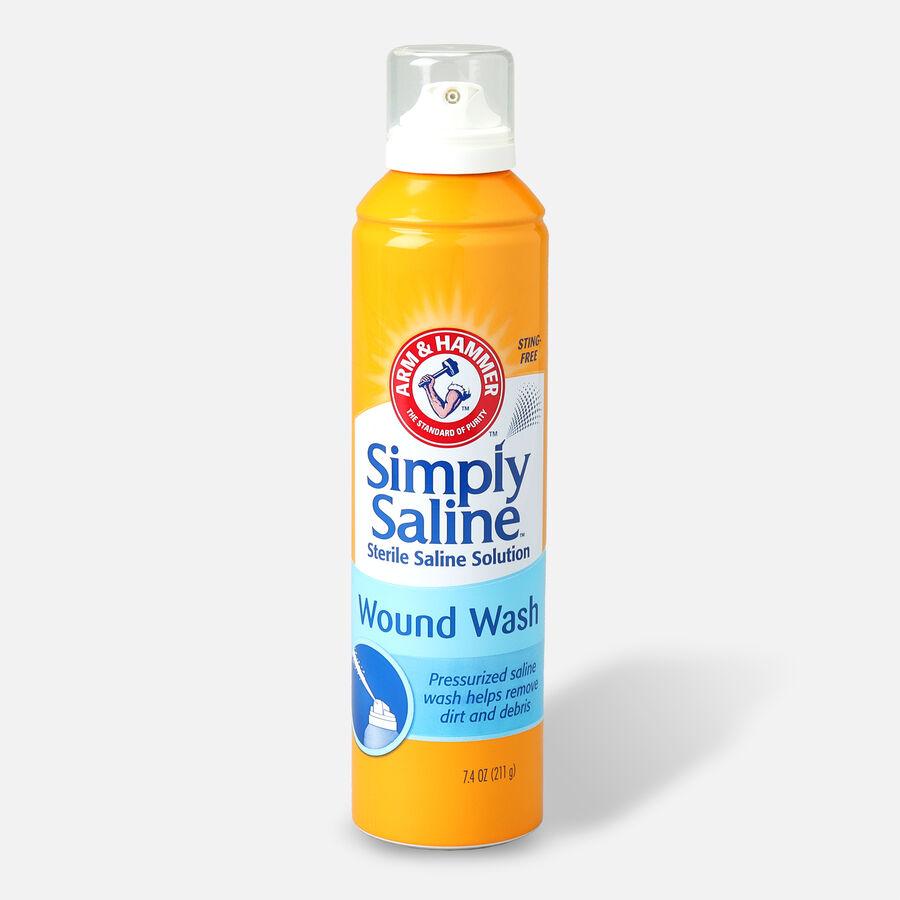 Simply Saline Wound Wash Sterile Solution Spray, 7.1 fl oz, , large image number 0