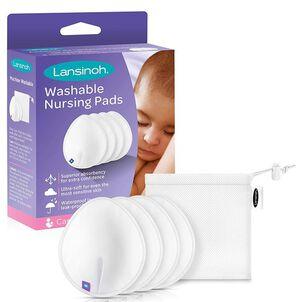 Lansinoh Washable Nursing Pads, 4 ct