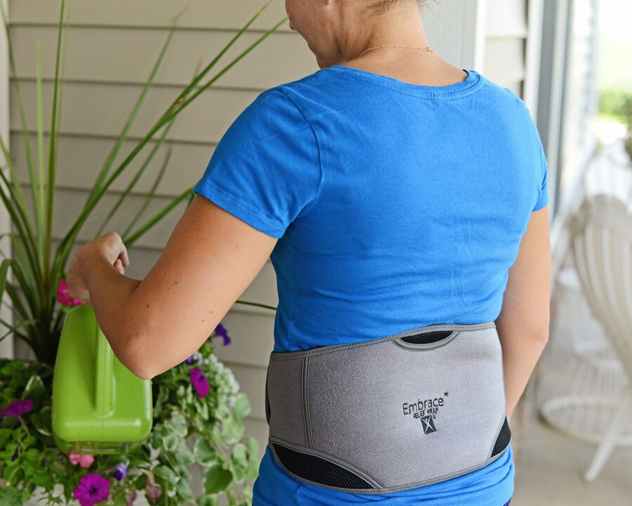 Battle Creek Embrace ™ Relief Back Wrap – Portable, 3 Temperature Settings, Auto Shut Off, Wireless & Rechargeable Wrap, Battery-Operated Heat Therapy Wrap for Back Pain Relief, , large image number 10